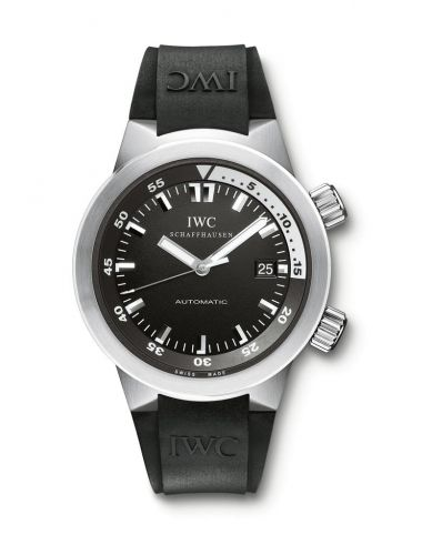 IWC IW3548-07 : Aquatimer Automatic Stainless Steel / Black / Rubber