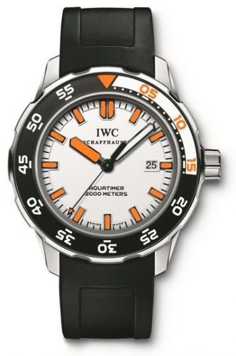 IWC IW3568-07 : Aquatimer 2000 Stainless Steel / White / Rubber