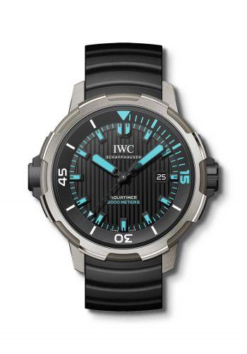 IWC IW3580-04 : Aquatimer Automatic 2000 Titanium / Black / Blue Lume / Rubber / Los Roques