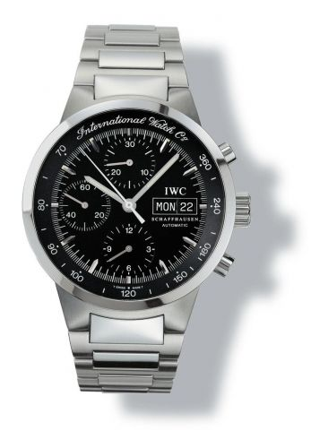 IWC IW3707-06 : GST Chronograph Automatic Stainless Steel / Black / German