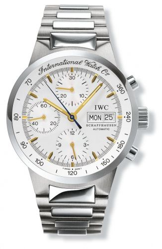 IWC IW3707-11 : GST Chronograph Automatic Stainless Steel / Silver / German