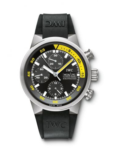 IWC IW3719-18 : Aquatimer Chrono-Automatic Titanium / Black / Rubber