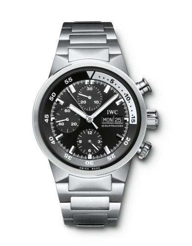 IWC IW3719-28 : Aquatimer Chrono-Automatic Stainless Steel / Black / Bracelet