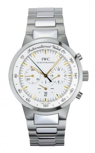IW3727-03 : IWC GST Chronograph MecaQuartz Stainless Steel / Silver