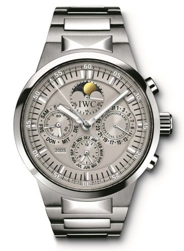 IWC IW3756-08 : GST Perpetual Calendar Stainless Steel / Grey / French