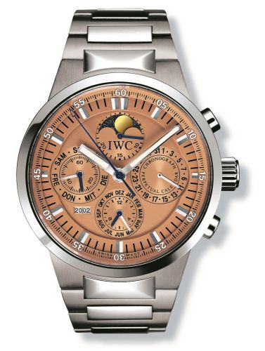IWC IW3756-12 : GST Perpetual Calendar Stainless Steel / Salmon / French