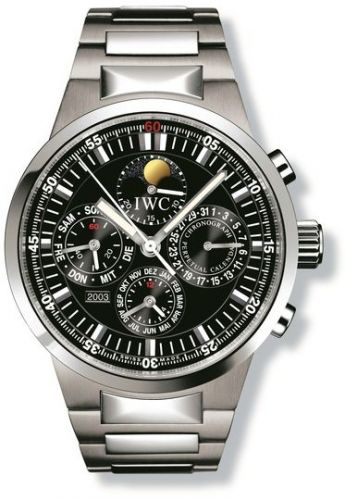 IWC IW3756-16 : GST Perpetual Calendar Stainless Steel / Black / French