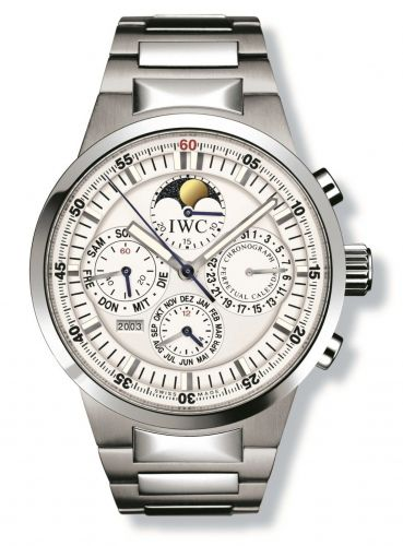 IWC IW3756-20 : GST Perpetual Calendar Stainless Steel / White / French