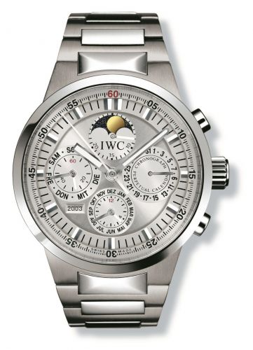 IWC IW3756-24 : GST Perpetual Calendar Stainless Steel / Silver / French