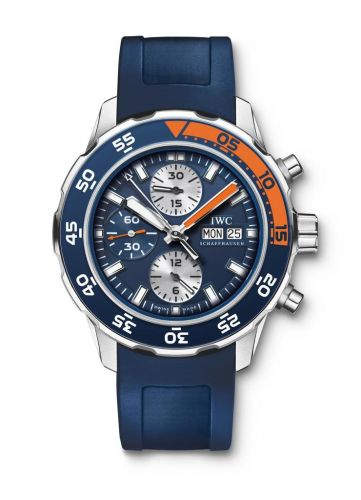 IWC IW3767-04 : Aquatimer Chronograph Stainless Steel / Blue / Rubber