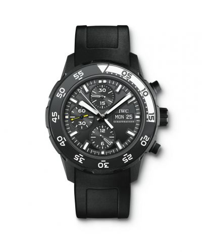 IWC IW3767-05 : Aquatimer Chronograph Stainless Steel / Black / Rubber / Galapagos Islands