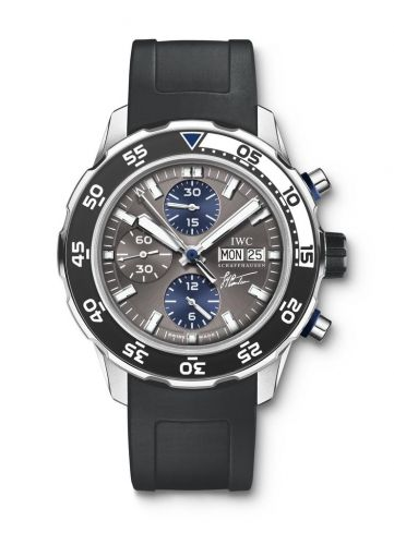 IWC IW3767-06 : Aquatimer Chronograph Stainless Steel / Grey / Rubber / Cousteau Divers 2010