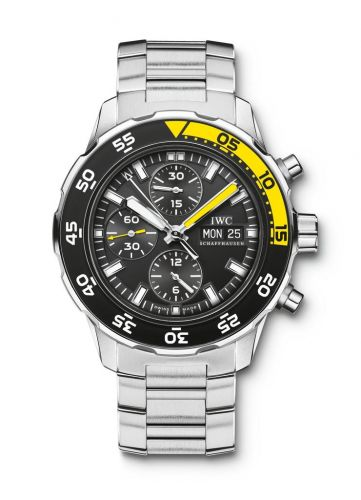 IWC IW3767-08 : Aquatimer Chronograph Stainless Steel / Black / Bracelet