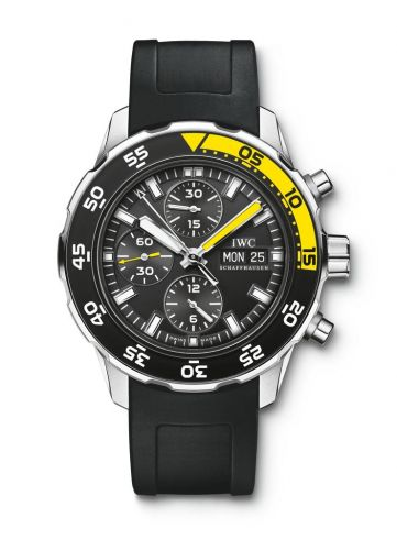 IWC IW3767-09 : Aquatimer Chronograph Stainless Steel / Black / Rubber
