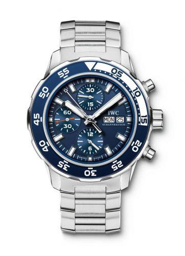 IWC IW3767-10 : Aquatimer Chronograph Stainless Steel / Blue / Bracelet