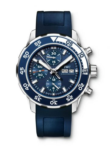 IWC IW3767-11 : Aquatimer Chronograph Stainless Steel / Blue / Rubber