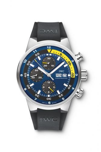 IWC IW3782-03 : Aquatimer Chronograph Stainless Steel / Blue / Rubber / Tribute to Calypso