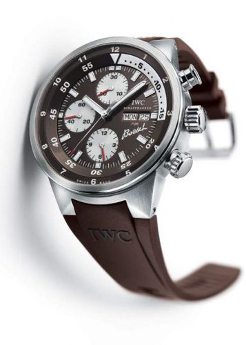 IWC IW3782-04 : Aquatimer Chronograph Stainless Steel / Brown / Rubber / Boesch