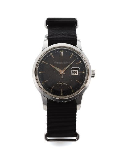 IWC 666AD : Ingenieur 666AD Stainless Steel / Black