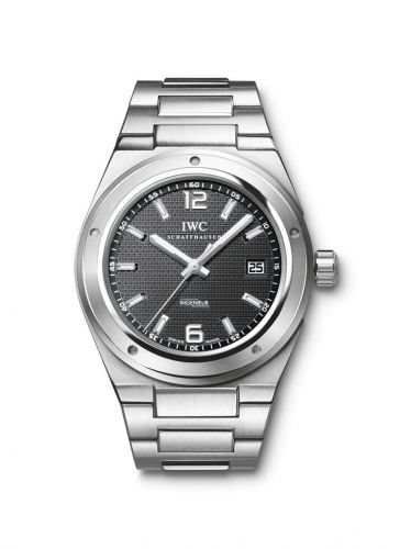 IW3227-01 : IWC Ingenieur Automatic Stainless Steel / Black