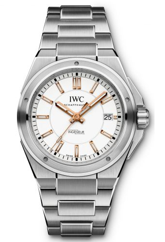 IWC IW3239-06 : Ingenieur Automatic Silver / Rose