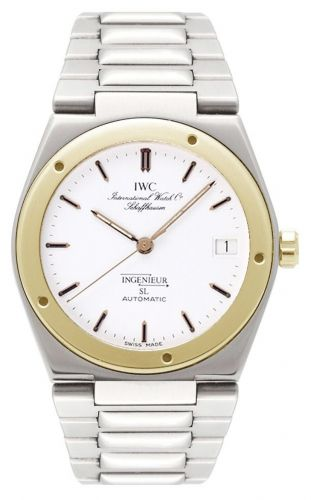 IWC IW3505-06 : Ingenieur SL Automatic Stainless Steel / Yellow Gold / White / Bracelet