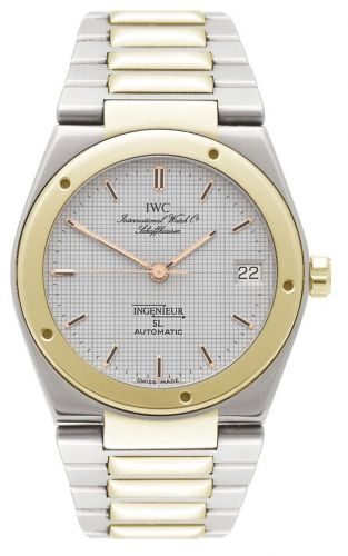 IWC IW3505-13 : Ingenieur SL Automatic Stainless Steel / Yellow Gold / Silver / Bracelet