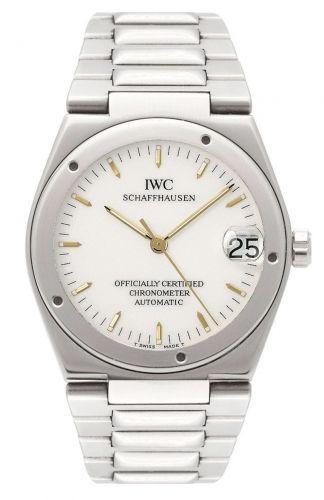 IWC IW3521-01 : Ingenieur SL Chronometer Stainless Steel / White / Bracelet