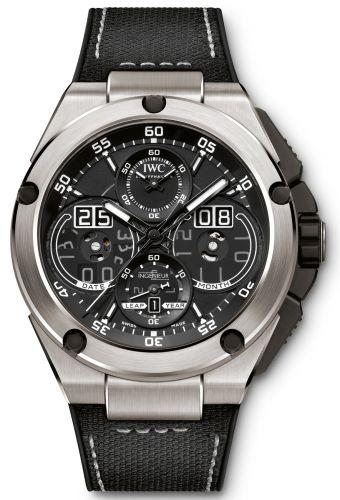 IWC IW3792-01 : Ingenieur Perpetual Calendar Digital Date-Month Titanium