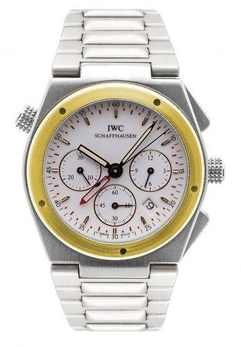 IW3805-04 : IWC Ingenieur Mecaquartz Chronograph Alarm Stainless Steel / Yellow Gold / White / Bracelet