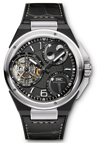 IWC IW5900-01 : Ingenieur Constant-Force Tourbillon Platinum / Ceramic