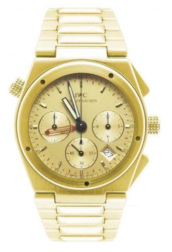 IWC IW9515-03 : Ingenieur Mecaquartz Chronograph Alarm Yellow Gold / Champagne / Bracelet
