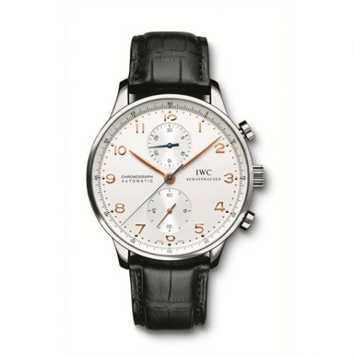 IWC IW3714-45 : Portuguese Chrono-Automatic Stainless Steel / Silver