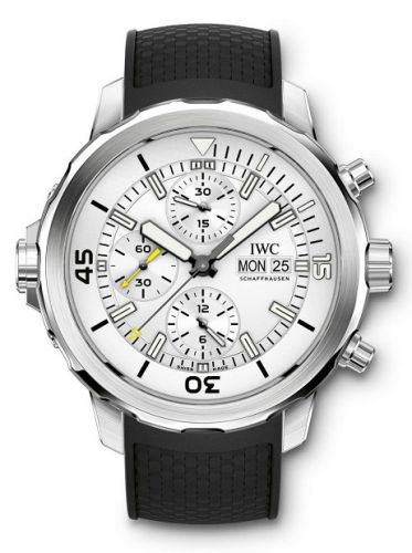 IWC IW3768-01 : Aquatimer Chronograph Stainless Steel / Silver / Rubber