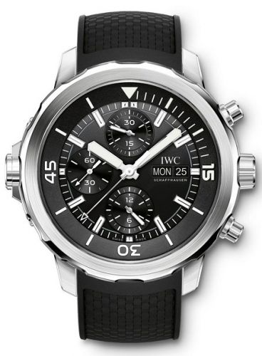 IWC IW3768-03 : Aquatimer Chronograph Stainless Steel / Black / Rubber