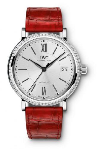 IWC IW4581-09 : Portofino Automatic 37 Stainless Steel / Diamond / Silver