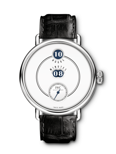 IW5050-01 : IWC Tribute to Pallweber Edition 150 Years Platinum