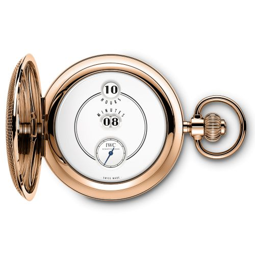 IWC IW5051-01 : Tribute to Pallweber Pocket Watch Edition 150 Years vRed Gold