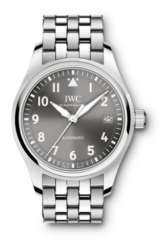 IW3240-02 : IWC Pilot's Watch 36 Grey / Bracelet