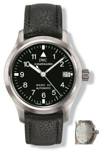 IW3241-04 : IWC Pilot's Watch Mark XII Stainless Steel / Black / Cathay Pacific