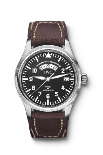 IW3251-01 : IWC Pilot's Watch UTC Stainless Steel / Black / Strap