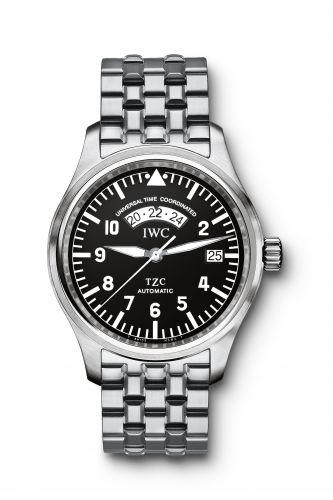 IW3251-02 : IWC Pilot's Watch UTC Stainless Steel / Black / Bracelet