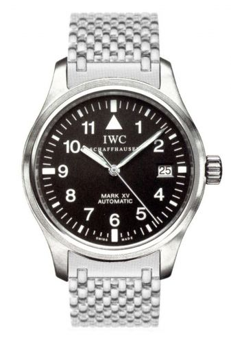 IWC IW3253-02 : Pilot's Watch Mark XV Stainless Steel / Black / Bracelet