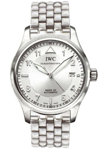 IWC IW3253-14 : Pilot's Watch Mark XV Spitfire Stainless Steel / Silver / Strap
