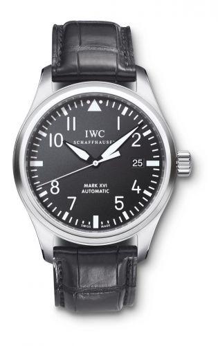 IWC IW3255-01 : Pilot's Watch Mark XVI Stainless Steel / Black / Strap