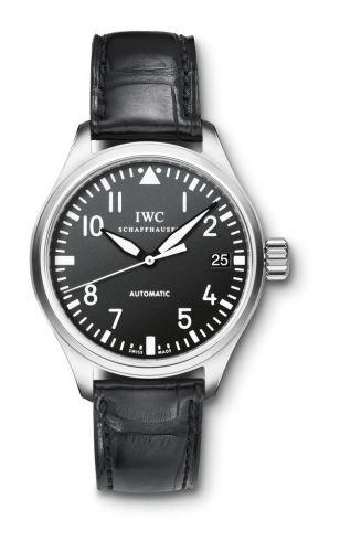 IWC IW3256-01 : Pilot's Watch Midsize / Black Alligator