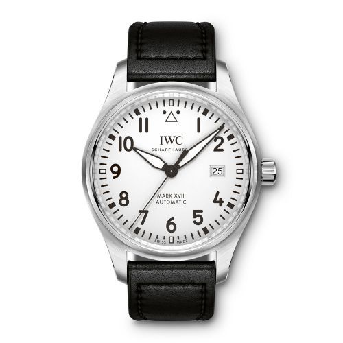 IW3270-02 : IWC Pilot's Watch Mark XVIII Silver