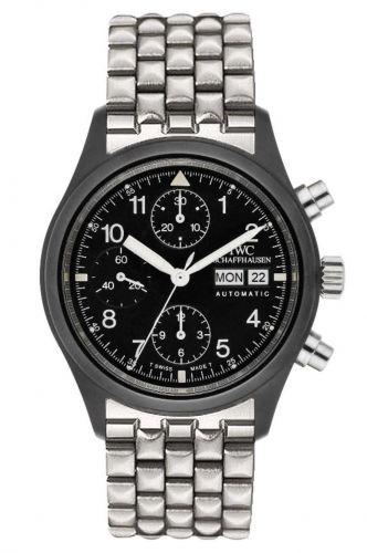 IWC IW3705-05 : Pilot's Watch Chronograph Ceramic / German / Bracelet
