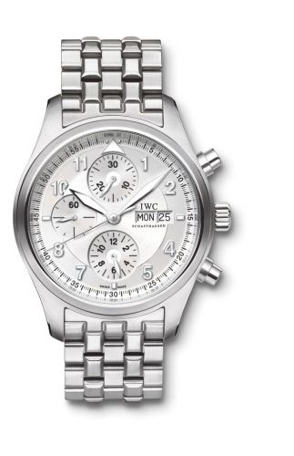IWC IW3717-05 : Pilot's Watch Spitfire Chronograph Stainless Steel / Silver / Bracelet