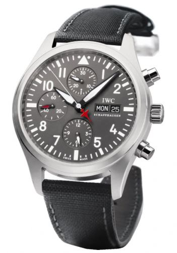 IWC IW3717-14 : Pilot's Watch Chronograph Stainless Steel / Patrouille Suisse